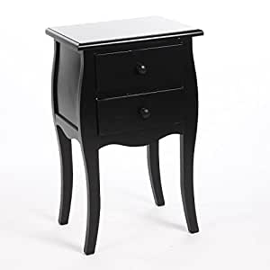 Table de nuit chevet baroque 2 tiroirs destockage - Table de nuit en anglais ...