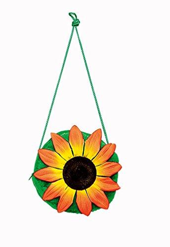 Kostüm Handtasche Sonneblume Zubehör Karneval Flower Power (Sonnenblumen Kostüme)