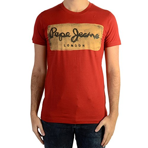 tee-shirt-pepe-jeans-charing-burnt-red