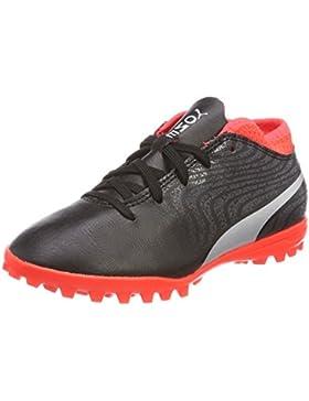 Puma One 18.4 TT Jr, Zapatillas de Fútbol Unisex Niños