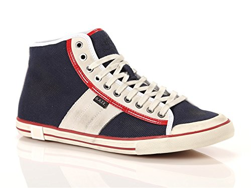 Date, Uomo, Tender High, Canvas/suede, Sneakers Alte, Blu, 43 EU