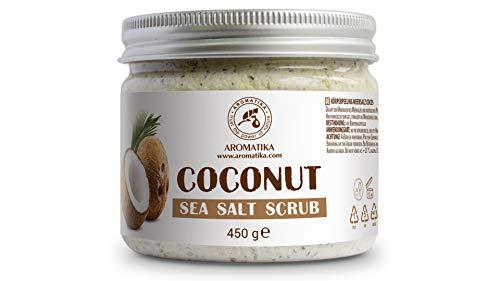 Körperpeeling mit Mineralien 450g - Salzpeeling für alle Hauttypen - Hautpeeling - zartes Gefühl Körperpeeling - Body Scrub Peeling - Tropische Scrub