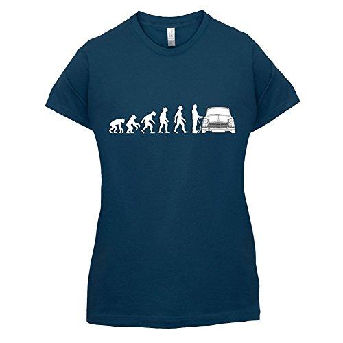 Evolution of Man - Mini Fahrer - Damen T-Shirt - 14 Farben Navy
