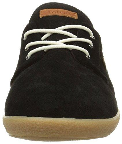 Faguo Cypress, Baskets Basses Homme Noir (003 Black)