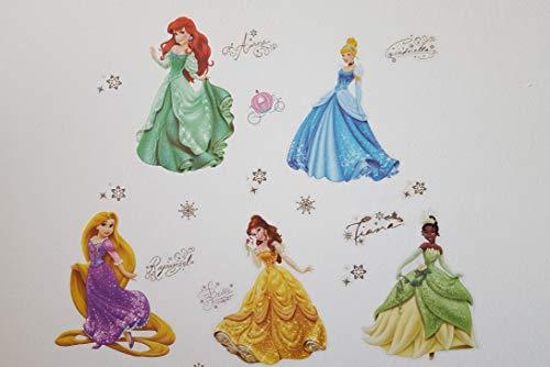 Stickers Cameretta Disney : Kibi adesivi da parete principesse disney camera dei bambini sfondo