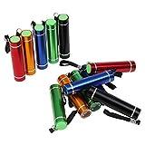 Mini LED llavero linterna 12 colores 8cm, Faroles de mano, super mini linterna linterna, para acampar, senderismo, caza, mochilero, pesca y otras actividades al aire libre