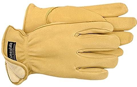 BOSS Handschuhe Boss Therm Premium Korn Hirschleder Treiber, Leder, M
