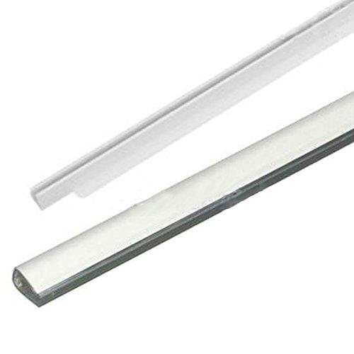 spares2go Glas Regal Vorder-& Rückseite Trim für Hotpoint Kühlschrank Gefrierschrank/Kühlschrank - Ai Trim