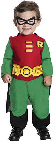 Titan Robin-Kostüm für Babys (Red Robin Kostüm)