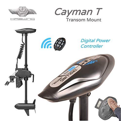 HASWING Cayman T Elektrischer Außenbordmotor Kabellose Fernbedienung