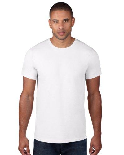 anvil Herren Fashion Basic Tee / 980 Weiß - Weiß