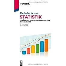 Statistik: Einführung in die computergestützte Datenanalyse (De Gruyter Studium)