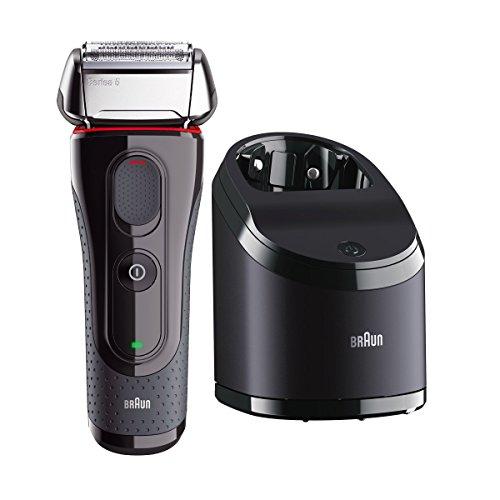 Braun 5050CC Rasierer Series 5 inklusive Reinigungsstation, Trocken- Und Nassrasur