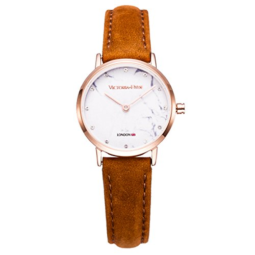 vh-london-ladies-wrist-watches-rose-gold-case-round-with-marble-dial-women-dress-analog-quartz-watch