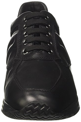 Geox Herren U Happy Art H Sneaker Schwarz (Black)