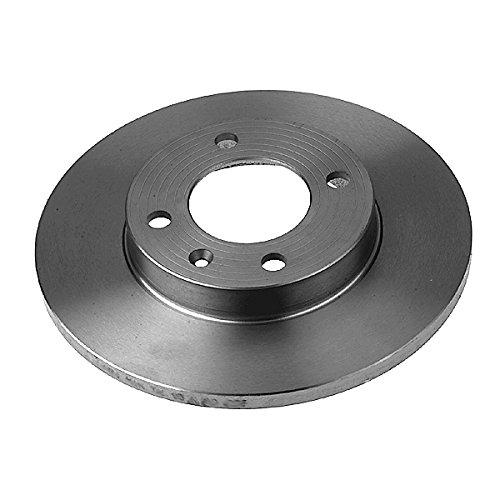 Preisvergleich Produktbild febi bilstein 02121 Bremsscheibensatz (2 Bremsscheiben) vorne,  voll,  Lochanzahl 4
