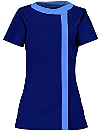 Alexandra Women'S Asymmetric Tunic (Nf191) Size 8 Color Navy/ Metro*