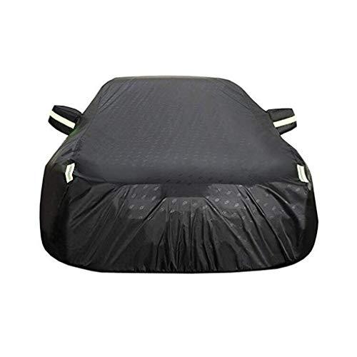 FENGRONG Auto voller Autoschutz Kompatibel Mit BMW 3er Autoschutzhülle, Dicker Wasserdichter Und Atmungsaktiver Sonnenschutzplane