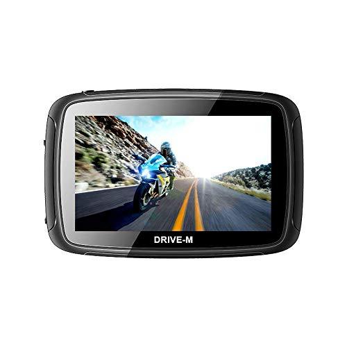 5 Zoll GPS Navigationsgerät Navi Drive-M Für Motorrad und PKW. wasserdichte. Radarwarner, Kostenlos Map Update. Bluetooth, auch für Camper und LKW nutzbar. Klares und helles Display