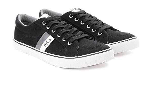 Fila Achilleo Men's Black Canvas Shoes