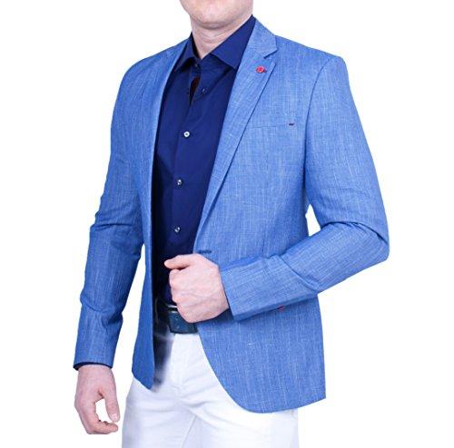 Blazer by ceketch-Blazer-Chemise-Homme Bleu