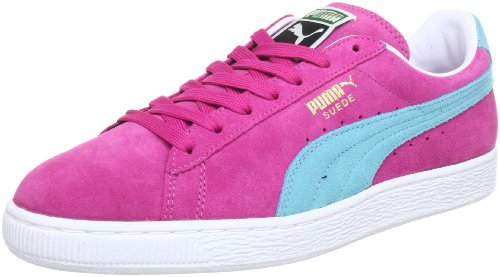 Puma Suede Classic+ , Baskets Basses Mixte Adulte rose bonbon