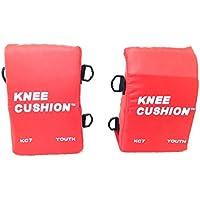 Martin Sports Baseball/Softball Catchers Knee Cushion Support Pads - Youth, Red