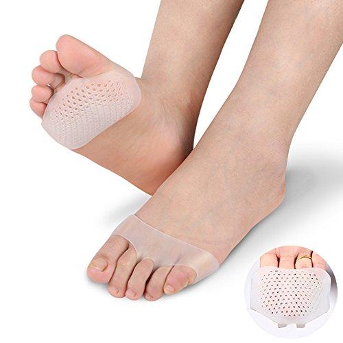 1 Paar Gel Vorfuß Silikon Schuh Pad Einlegesohlen Frauen Hohe Ferse Elastische Kissen Schützen Comfy Feet Palm Pflege Pads Schuh Zubehör 100% Garantie Schönheit & Gesundheit Haut Pflege Werkzeuge