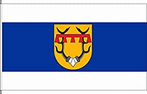 Flagge Fahne Hochformatflagge Feusdorf - 120 x 300cm