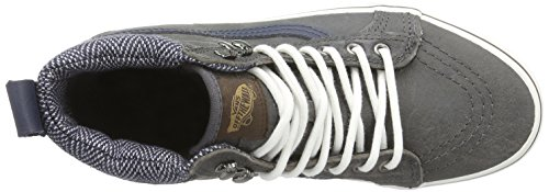 Vans Sk8-hi Mte, Unisex-Erwachsene Hohe Sneakers Grau (mte/charcoal/herringbone)