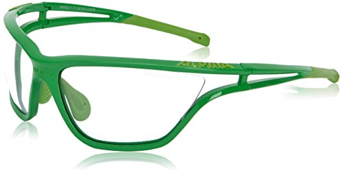 ALPINA Fahrradbrille Eye-5 VL+ Green/L'Green, One size