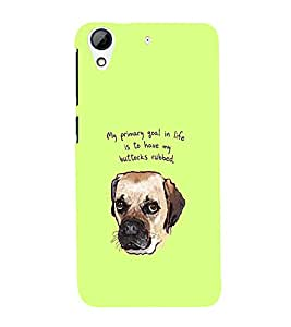 EPICCASE Rub me case Mobile Back Case Cover For HTC Desire 626 (Designer Case)