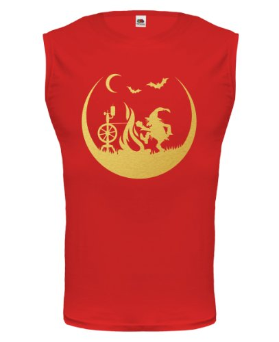 buXsbaum® Tank Top Feuerzwerg Red-Gold