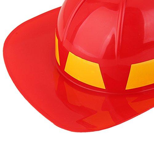 F Fityle 5stk. Kinder Feuerwehrmann Spielzeug Cosplay Kostüm Zubehör für Rollenspiel