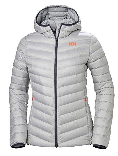 Helly Hansen W Verglas Hooded Down Insulato Jacket, Mujer, Light Grey, L
