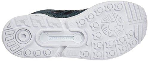 adidas Damen Zx Flux Sneakers Grün (Vapour Steel/Core Black/Ftwr White)