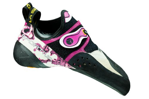 La Sportiva Solution W chaussures d'escalade White/Pink