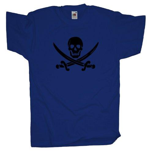 Ma2ca - Pirat Fasching T-Shirt Royal