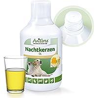 AniForte natürliches Nachtkerzenöl 500 ml- Naturprodukt für Hunde und Pferde