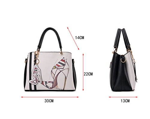 Mode Frau Tragbare Schulter Messenger Bag 6
