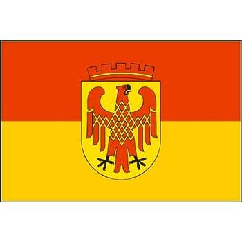 Potsdam Fahne Stadt Potsdam Flagge Grösse 1,50x0,90m - FRIP –Versand®