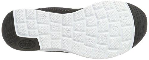 Dockers by Gerli Damen 38mu206-700100 Sneakers Schwarz (Schwarz 100)