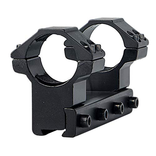 FOCUHUNTER Aluminium Taktisch Hohes Profil 25.4mm Umfang Rings 11mm Weaver/Picatinny Ringe Montieren Adapter für Zielfernrohr -