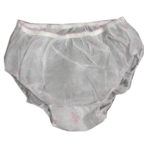 Albio Disposable Non Woven Panty 20 GSM -WHITE ( 10 pc Pack )