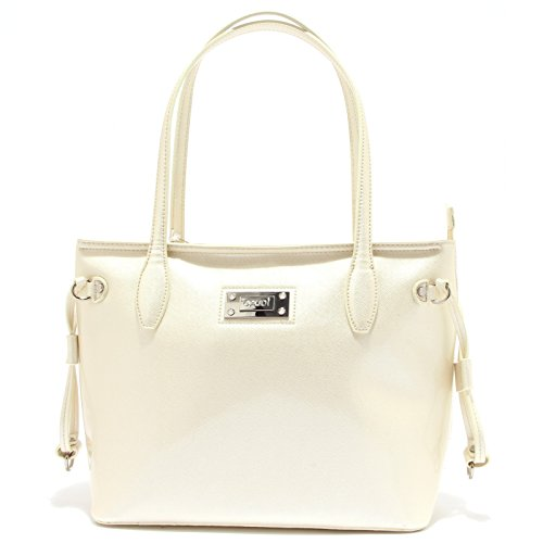 3651T borsa donna GAUDI  BAYLEE avorio lucida hand bag woman  ONE SIZE  e8534cd2666