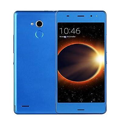 SIM-Free Mobile Phones, Unlocked P9+ Android GO 3G Smartphone with 6.0 Inch HD IPS Display, 3200mAh Big battery,1GB RAM+ 8GB ROM Quad-core, Dual SIM Dual Cameras