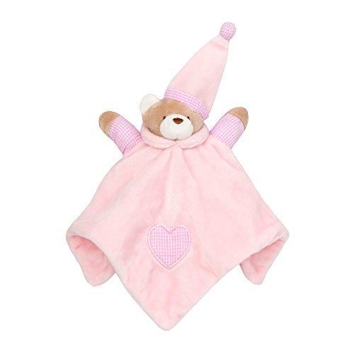 3e01da73ff Babytown Baby Boys and Girls Quick-Drying Teddy Bear Comforter Pink