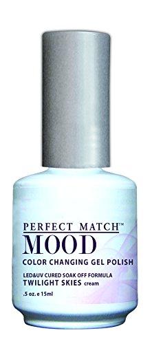 LeChat Mood Gels Vernis à Ongles UV/LED Twilight Skies 15 ml