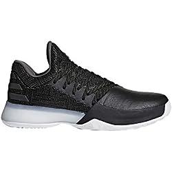 Adidas Harden Vol. 1, Zapatillas de Baloncesto para Hombre, Negro (Negbás/Carbon/Roalre 000), 48 EU