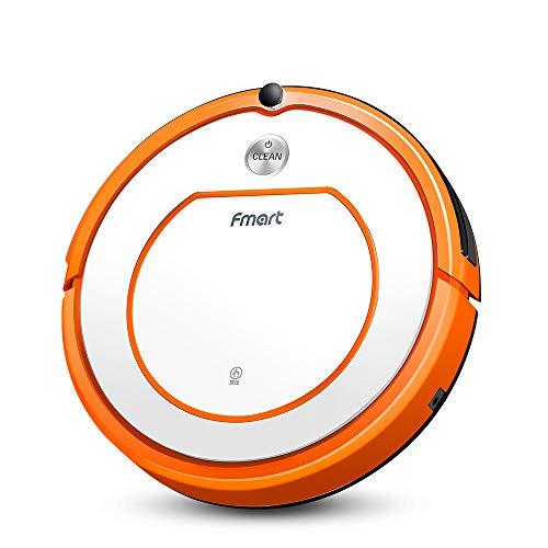 Fmart Robot Aspirador Q2 Limpiador de alfombras de Piso, Fregona Seca húmedo con Tanque de Agua, Robotic...
